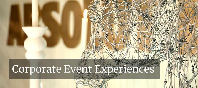 Corporate Event Experiences